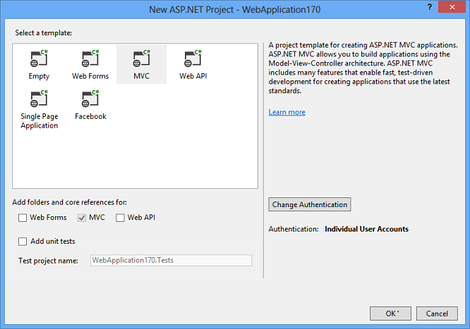 Sample Login Authentication Using Mvc 5 With Localdb The