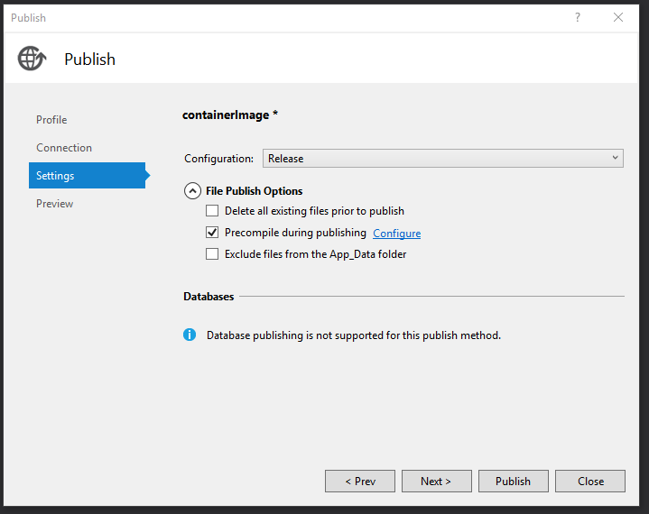 Migrating ASP NET MVC Applications to Windows Containers