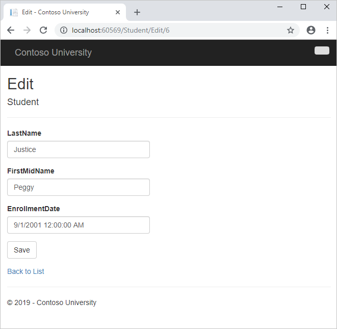 Tutorial: Get Started with Entity Framework 6 Code First