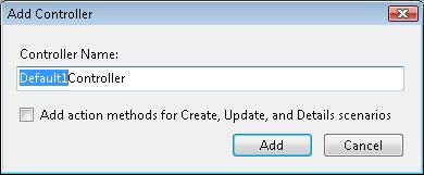 Creating a Controller (C#) | Microsoft Docs