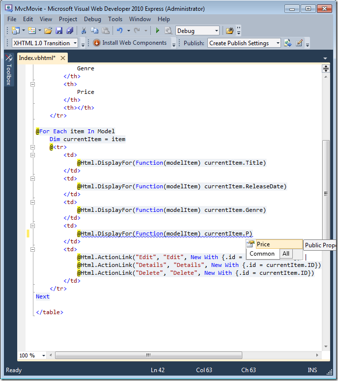 5_intellisense - Visual Basic Beispiele