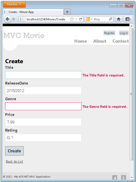 Self validating asp net text box