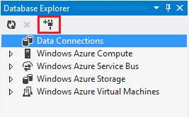 Creating an entity framework data model for an asp mvc click the add connection icon ccuart Images