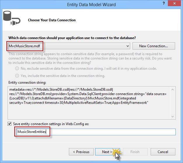 ASP NET MVC 4 Models and Data Access | Microsoft Docs