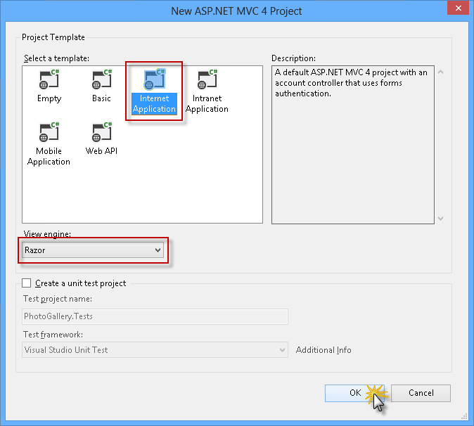 What S New In Asp Net Mvc 4 Microsoft Docs