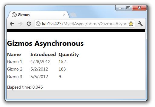 Using Asynchronous Methods in ASP NET MVC 4   Microsoft Docs