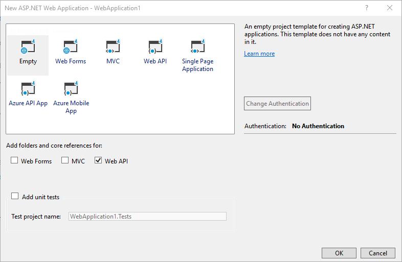 Configuring ASP NET Web API 2 - ASP NET 4 x | Microsoft Docs