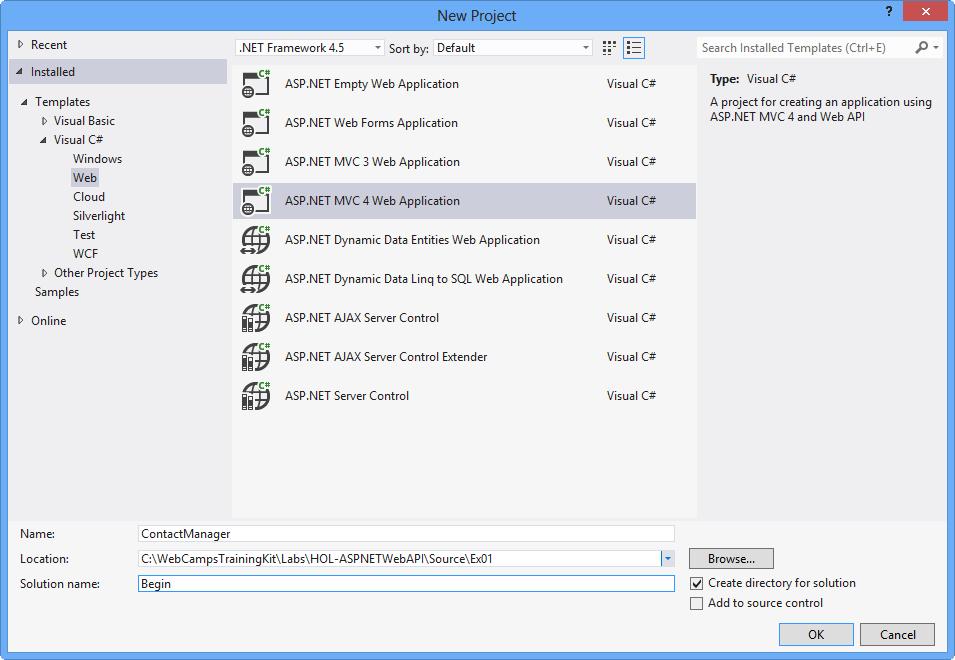 Build RESTful APIs with ASP NET Web API - ASP NET 4 x   Microsoft Docs