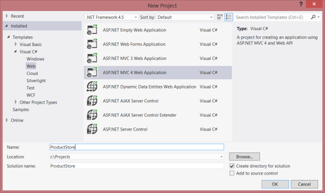 Enabling CRUD Operations in ASP NET Web API 1 - ASP NET 4 x