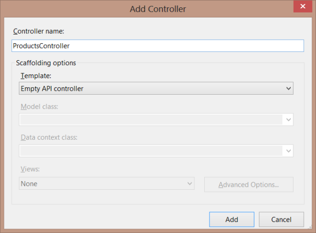 Part 6: Creating Product and Order Controllers   Microsoft Docs