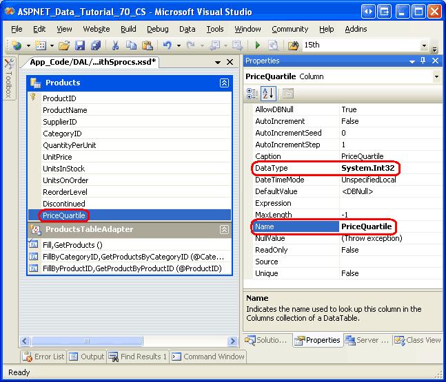 Adding Additional DataTable Columns (VB)   Microsoft Docs