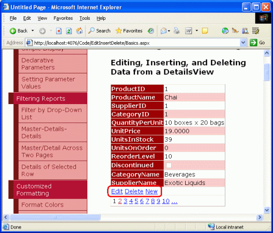 An Overview Of Inserting, Updating, And Deleting Data (C