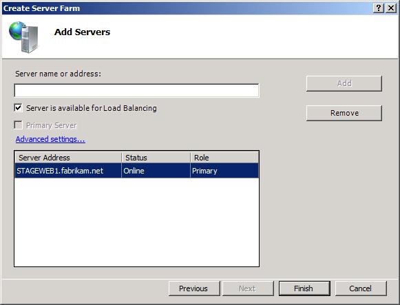 how to create a terminal server farm