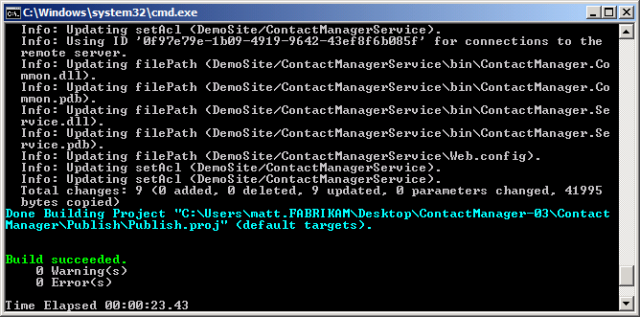 Creating and Running a Deployment Command File | Microsoft Docs