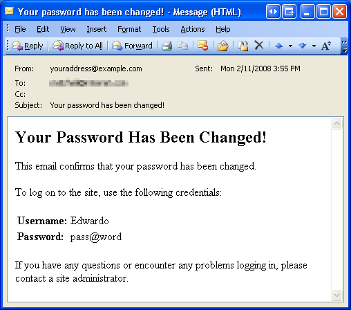 Recovering and Changing Passwords (VB) | Microsoft Docs