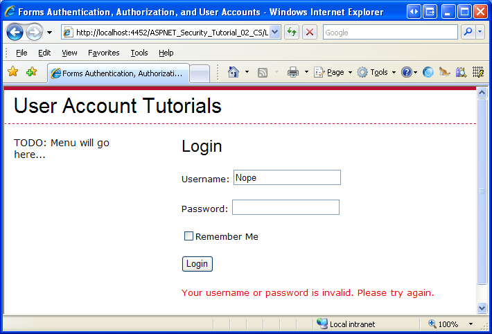 An Overview of Forms Authentication (C#) | Microsoft Docs