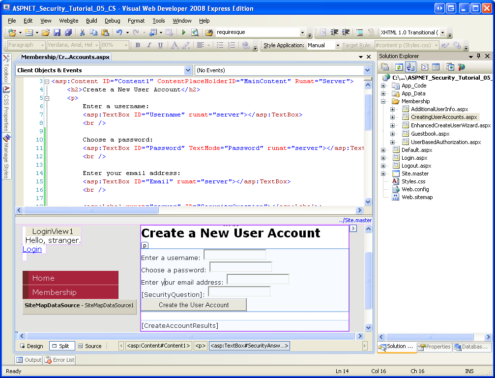 Creating User Accounts (VB) | Microsoft Docs