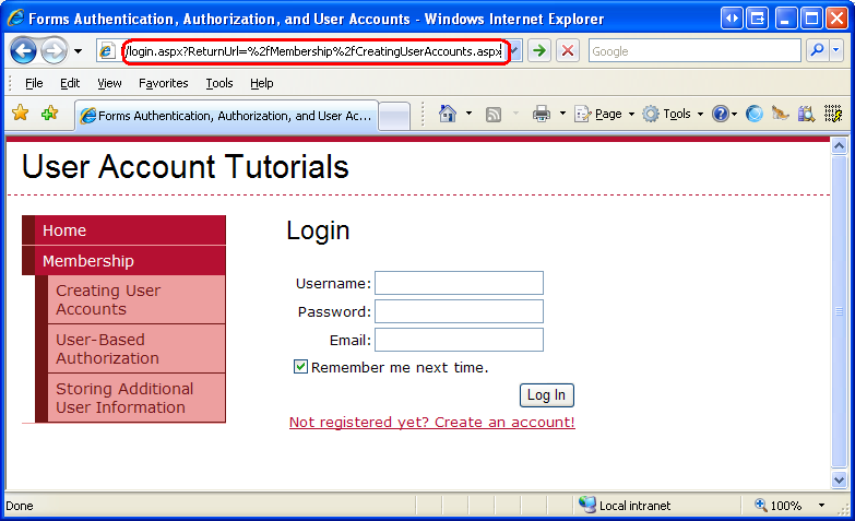 User-Based Authorization (C#) | Microsoft Docs