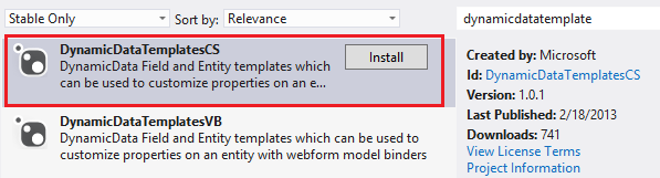 Updating, deleting, and creating data with model binding and web ...