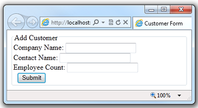 Working with HTML Forms in ASP.NET Web Pages (Razor) Sites ...