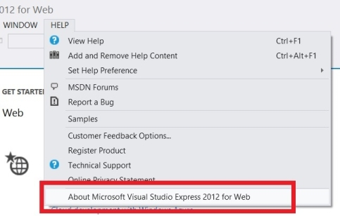 Asp.Net And Web Tools 2012.2 Release Notes | Microsoft Docs