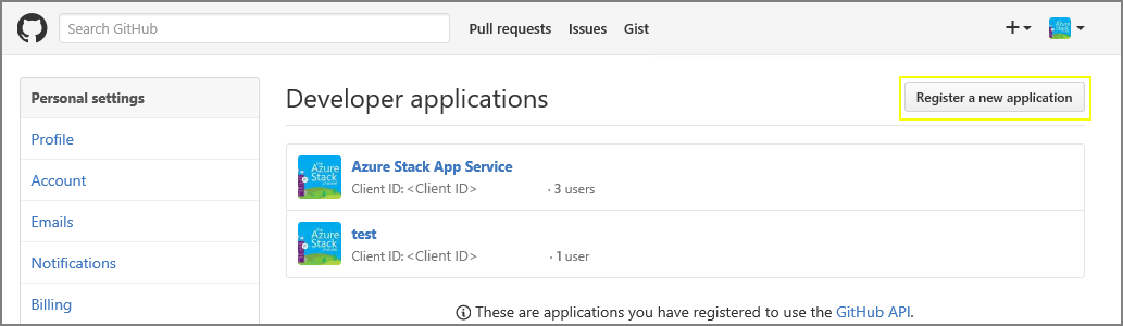 Configure deployment sources for App Services on Azure Stack