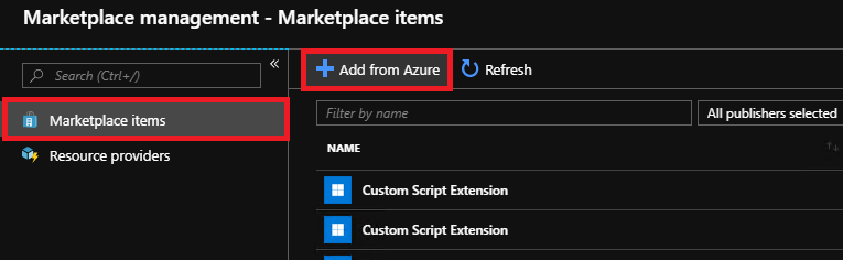 list of microsoft azure products