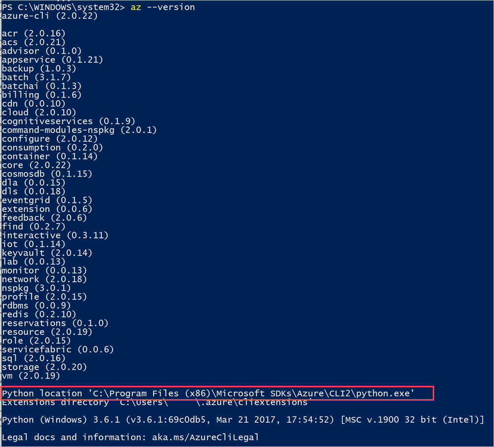 Install azure cli 2 0 powershell | Download Azure SDKs and Command