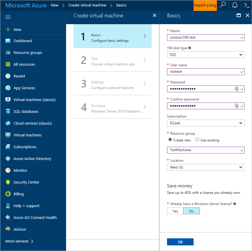change network from public to domain windows server