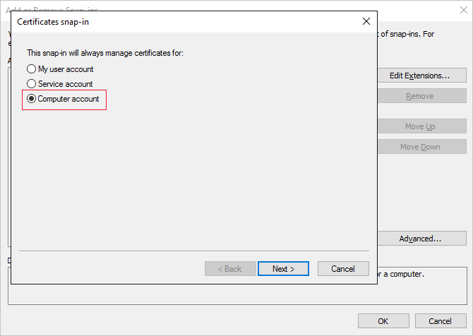 Create a secure LDAP certificate for an Azure AD Domain Services ...