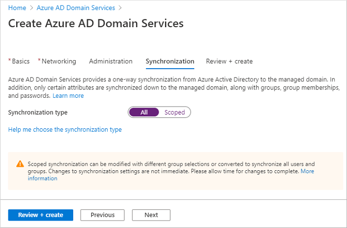 Perform a full synchronization of users and groups from Azure AD