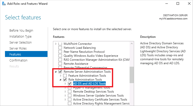 Tutorial - Create a management VM for Azure Active Directory