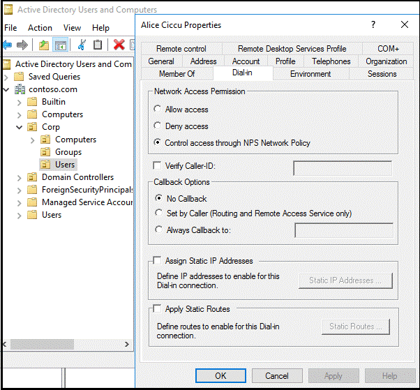 Integrate VPN with Azure MFA by using the Network Policy Server