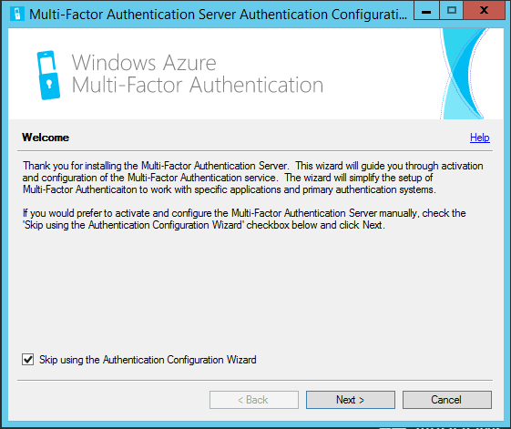Getting started Azure Multi-Factor Authentication Server