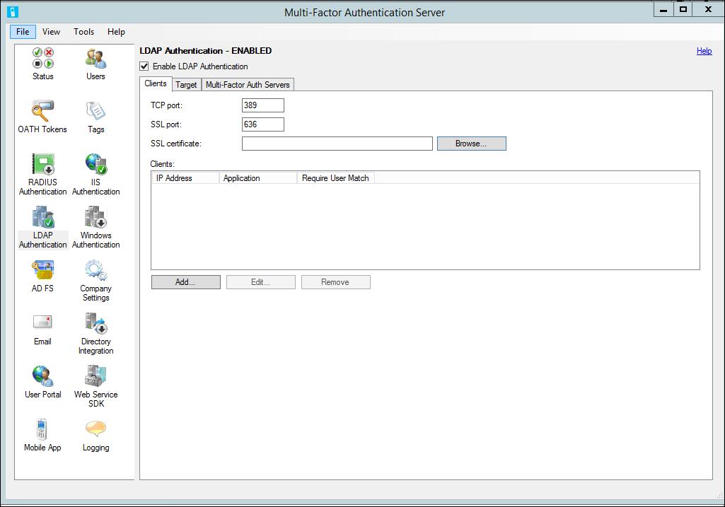 LDAP Authentication and Azure MFA Server - Azure Active