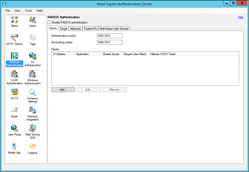 RADIUS Authentication and Azure MFA Server - Azure Active Directory