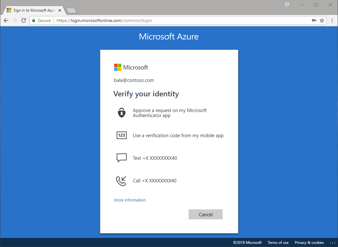 Azure Active Directory user authentication - Azure Active