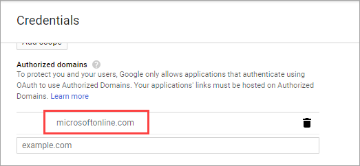 Add Google as an identity provider for B2B - Azure Active