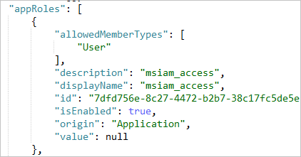 Configure the role claim issued in the SAML token for enterprise