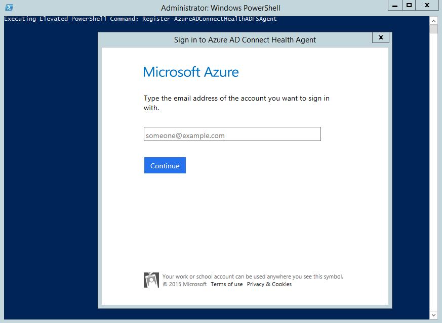 Azure AD Connect Health Agent installation | Microsoft Docs