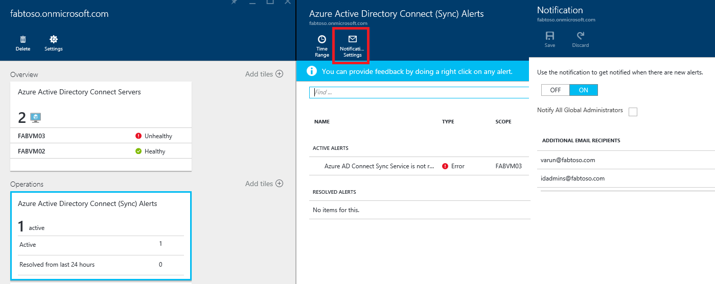 Azure Active Directory Connect Health operations   Microsoft