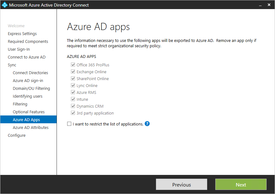 Azure AD Connect: Custom installation | Microsoft Docs