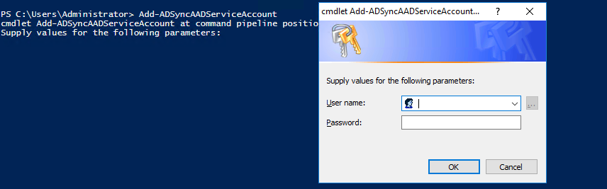 Azure AD Connect sync: Changing the ADSync service account