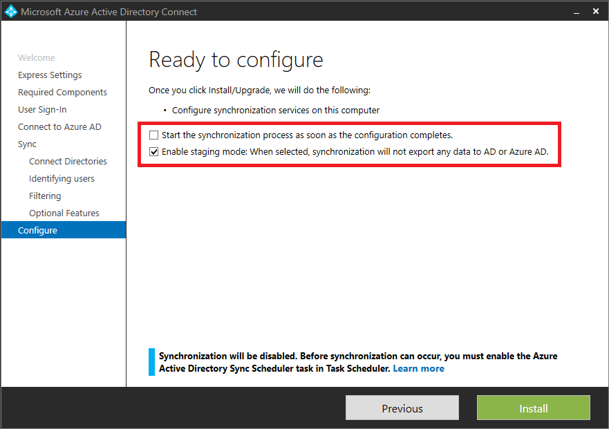 Azure AD Connect sync: Operational tasks and considerations