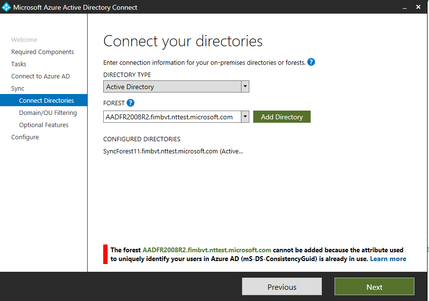Adding new directories to existing deployment