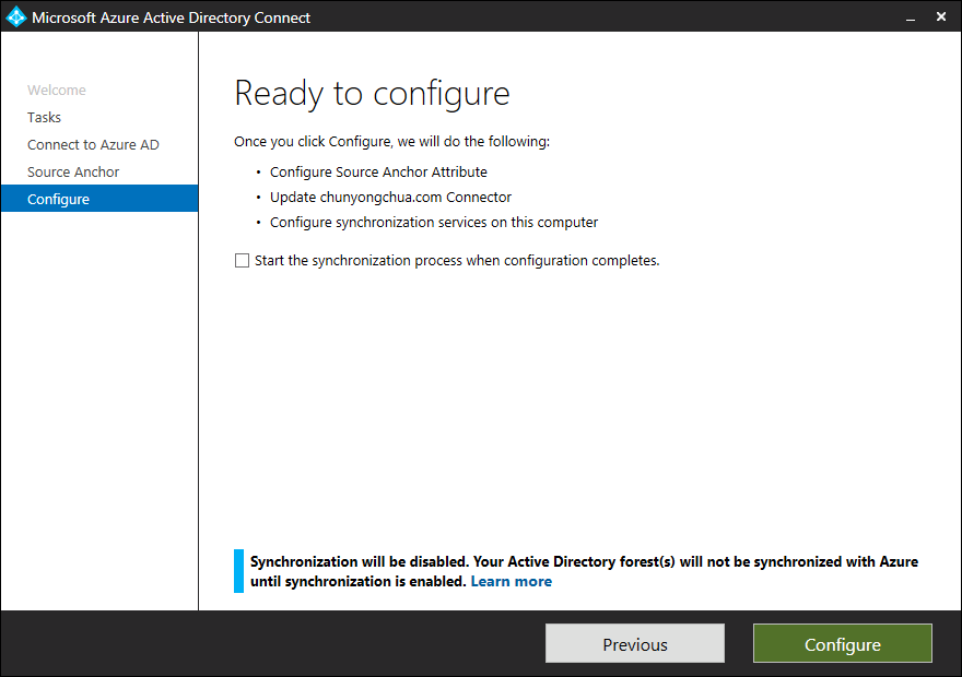 Enable ConsistencyGuid for existing deployment - step 5