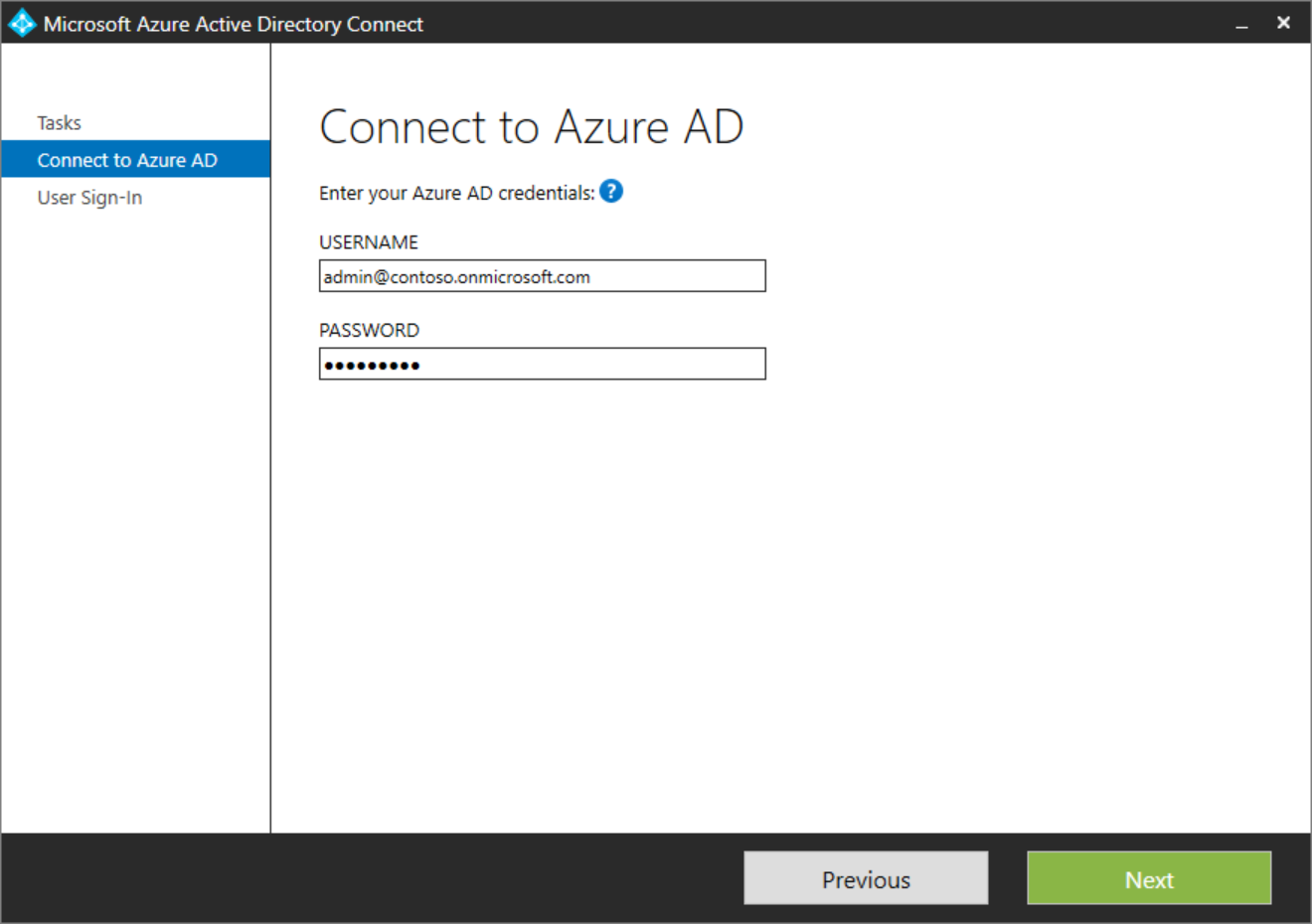 Azure AD Connect: User sign-in | Microsoft Docs