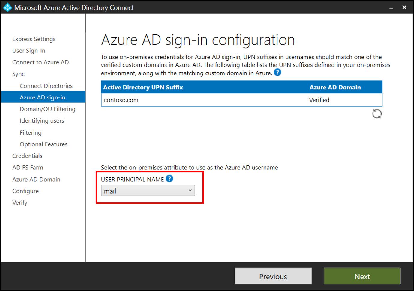 Azure AD UserPrincipalName population | Microsoft Docs