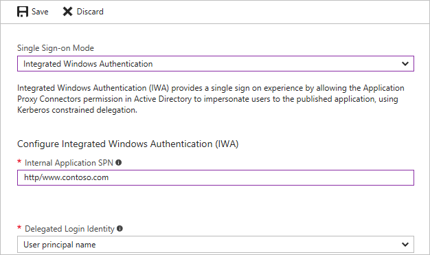 Single sign-on with Application Proxy | Microsoft Docs
