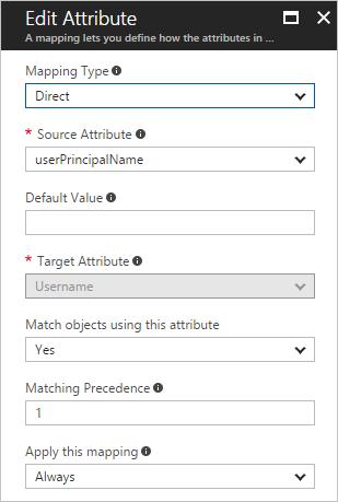 Customizing Azure AD Attribute Mappings | Microsoft Docs